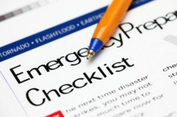 Emergency Preparedness Checklist Natural Disaster