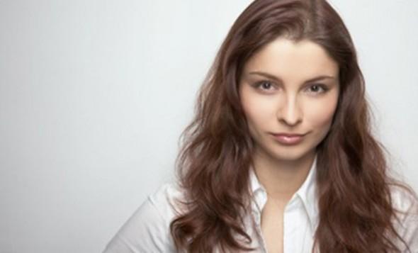 woman with smug look