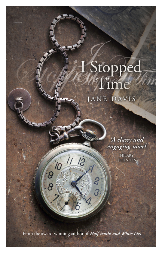 Jane Davis author of I StoppedTime