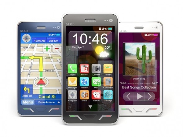 Smartphones mobile-phone-with-app
