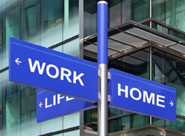 Work Life Home Sign
