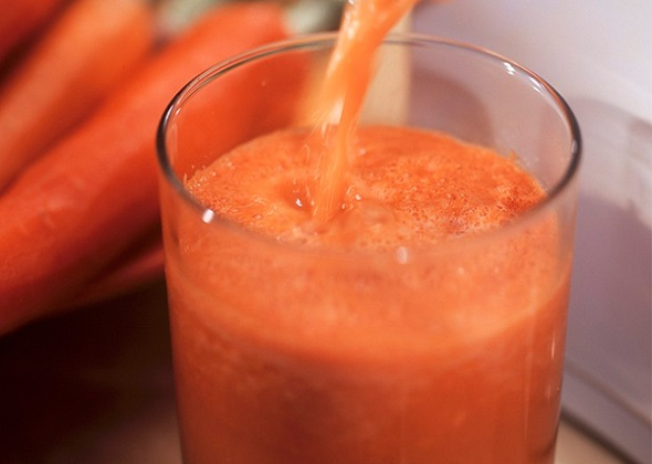 healthy juice from vegetables