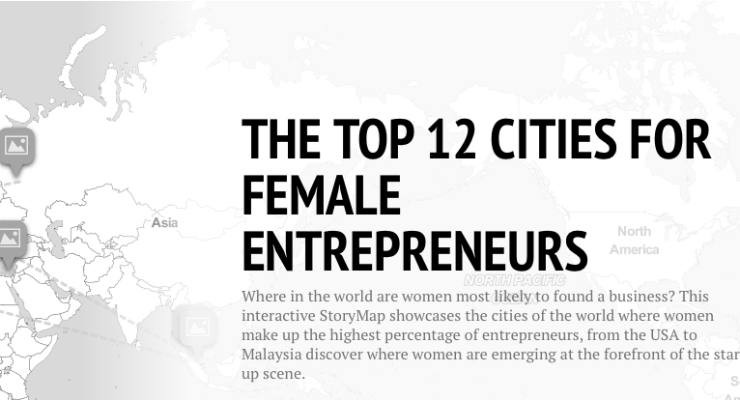 Top 12 Cities Female Entrepreneurs